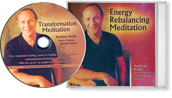 Energy Rebalancing / Transformation Meditation 2x Audio Guides